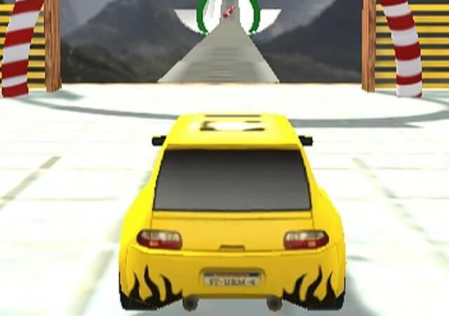 Mega Ramp Stunt Cars controls - Cool Math Game,
