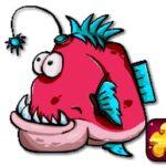 Cute piranha fish Puzzles No 1 Cool Math Games